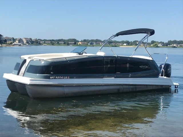 2017 Used Marker One Ml2ml2 Pontoon Boat For Sale 59 900