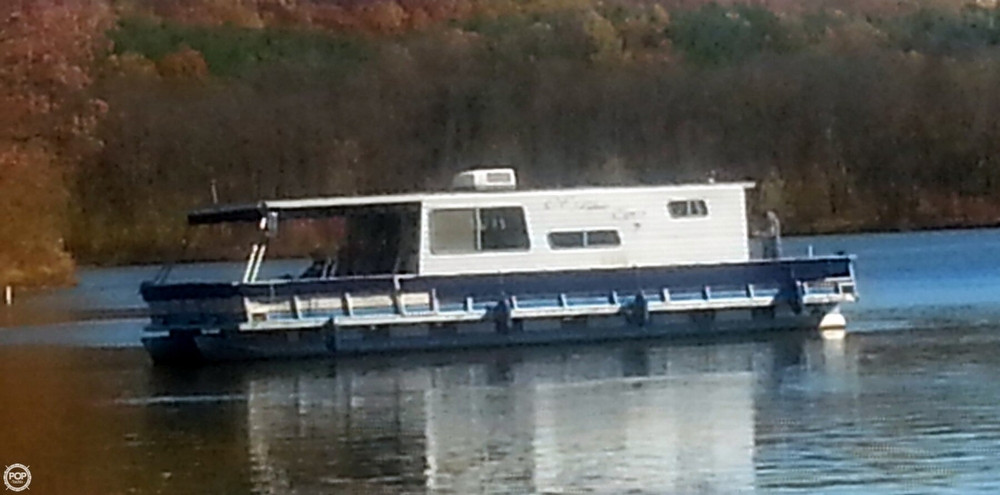 Used Crest 4114 Houseboat House Boat For Sale