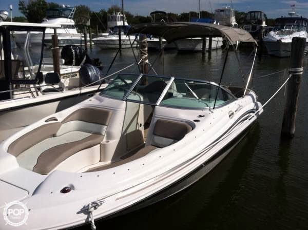 Used Sea Ray 210 Sun Deck Bowrider Boat For Sale