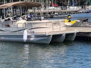 Used South Bay 622cr Pontoon Boat For Sale