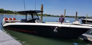 Used Statement 380 SUV Open Center Console Fishing Boat For Sale