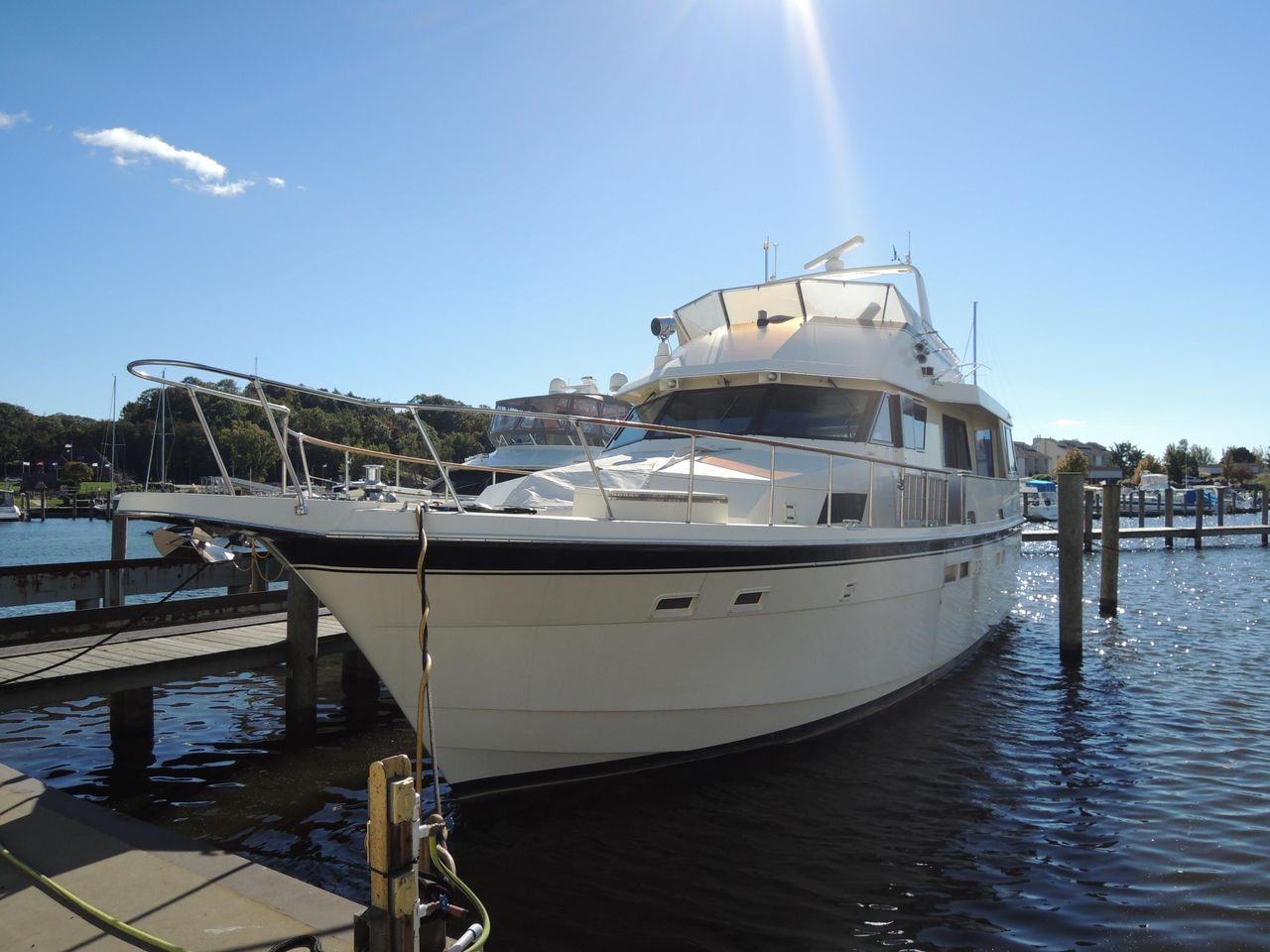 ... Used Hatteras 54 Motor Yacht Motor Yacht For Sale ...