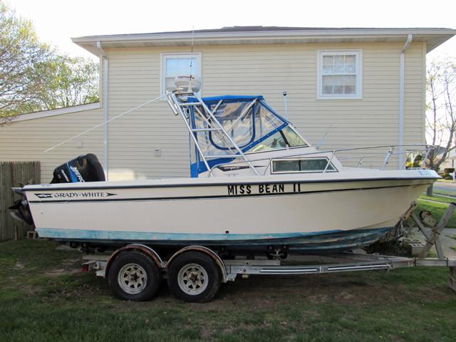 Used Grady White Overnighter Cuddy Cabin Boat For Sale