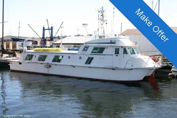 Used Carri Craft Blue Water 57 House Boat For Sale