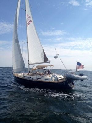 Used Moody 42 CC Center Cockpit Sailboat For Sale