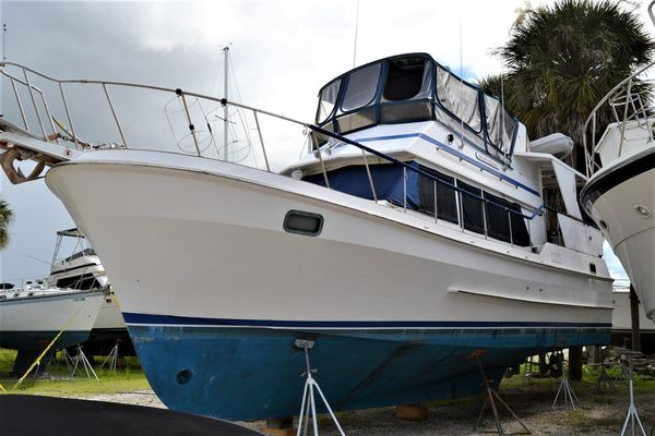 Used Oceania 42 Trawler Boat For Sale