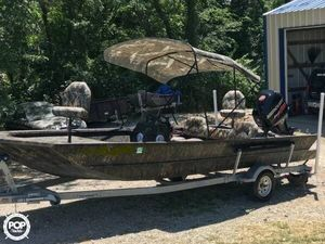 Used Lowe Roughneck 2070 SC Aluminum Fishing Boat For Sale