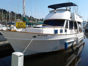Used Chb 37' Trawler Sedan Trawler Boat For Sale