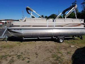 Used Princecraft 22versalli Pontoon Boat For Sale