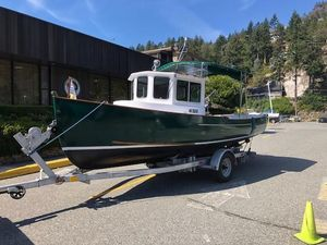 Used Davidson 21 Tug Downeast Fishing Boat For Sale
