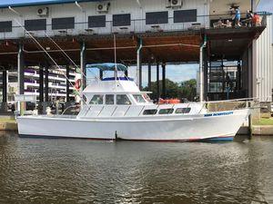 Used Custom Bill Holland 50' Sportfish Commercial Boat For Sale