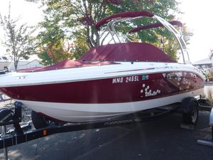 Used Chaparral H2O Ski & Fish Freshwater Fishing Boat For Sale