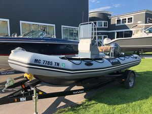 Used Zodiac Pro 12 Rigid Sports Inflatable Boat For Sale