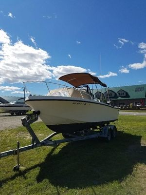 Used Mako 211 CC211 CC Center Console Fishing Boat For Sale