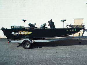 Used Rock Proof River RocketRiver Rocket Freshwater Fishing Boat For Sale