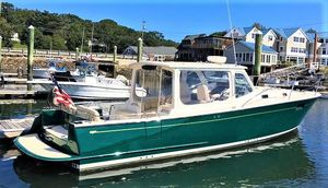 Used Mjm Yachts 36Z Downeast Cruiser Boat For Sale