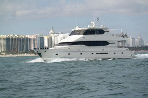 Used Monte Fino 82 Sky Lounge Motor Yacht For Sale
