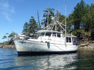 Used Willard Marine Pilot House Trawler Boat For Sale
