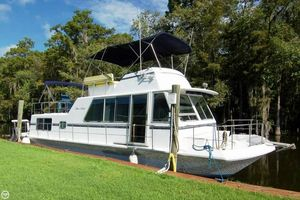 Used Chris-Craft 46 Aqua Home - Twin Diesels House Boat For Sale