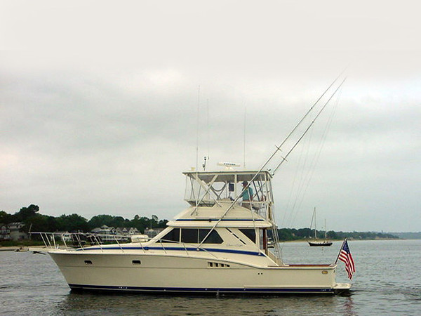 Used Chris Craft 42 Sport Sedan Sports Fishing Boat For Sale