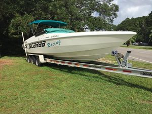 Used Wellcraft Scarab 29 High Performance Boat For Sale