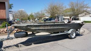 Used Excel 1854 Aluminum Fishing Boat For Sale