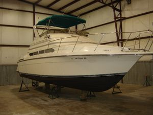 Used Carver 3800 Santego Convertible Fishing Boat For Sale