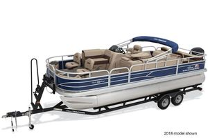 New Sun Tracker Fishin' Barge 22 DLXFishin' Barge 22 DLX Pontoon Boat For Sale
