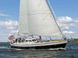 Used Ted Hood 55 Expedition Cruiser Sailboat For Sale