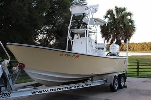 Used Aeon Marine 23 Pro Angler Center Console Fishing Boat For Sale
