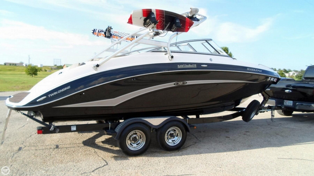 2012 used yamaha 242 limited s jet boat for sale 52 900