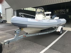 Used Zodiac Pro Open 550 Rigid Sports Inflatable Boat For Sale