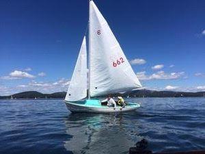 Used Cape Cod Bulls Eye Daysailer Sailboat For Sale