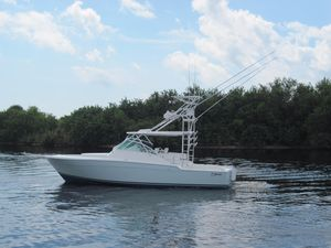 Used Strike 37 Walk Around Sports Fishing Boat For Sale