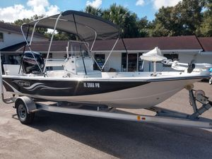 Used Blue Water 1900 STL1900 STL Center Console Fishing Boat For Sale
