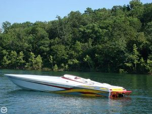 Used Profile 382V Poker Run Edition High Performance Boat For Sale