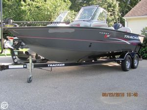 Used Tracker Targo V-18 Combo Aluminum Fishing Boat For Sale