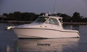 Used Boston Whaler 345 Conquest Express Cruiser Boat For Sale