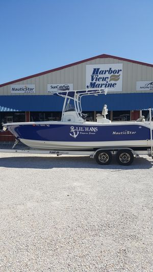 Used Nauticstar 2602 Legacy2602 Legacy Center Console Fishing Boat For Sale