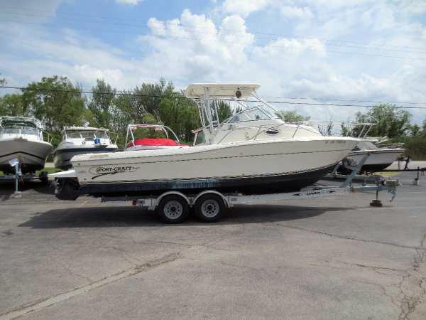 Used Sportcraft 261 WAC Walkaround Fishing Boat For Sale