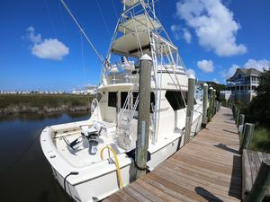 Used Hatteras Newer Upgraded Engines-upgrades Galore-very Special Hat-best 46 Convertible Fishing Boat For Sale