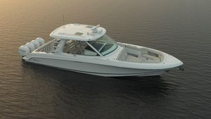 New Boston Whaler 380 Realm Sports Cruiser Boat For Sale