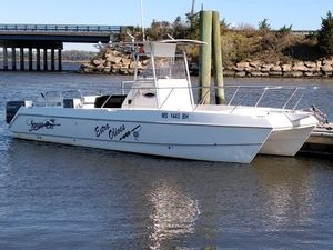 Used Sportcraft Sportcat 25 Power Catamaran Boat For Sale