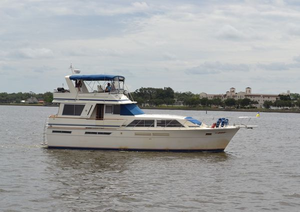 Used Chris Craft 500 Constellation Motor Yacht Pilothouse Boat For Sale