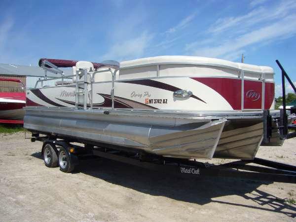 Used Manitou Pontoons 22 Osprey Pro SHP Pontoon Boat For Sale