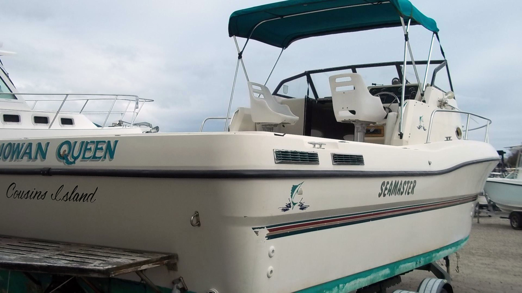1997 used renken 2788 wac saltwater fishing boat for sale for Offshore fishing boats for sale