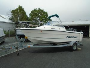 Used Trophy 1802 WA1802 WA Cuddy Cabin Boat For Sale