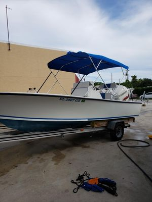 Used Seacraft 20 Classic Center Console Fishing Boat For Sale