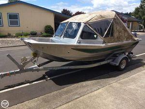 Used Wooldridge 16 Xtra Plus Aluminum Fishing Boat For Sale