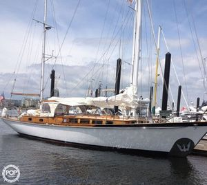 Used Dutch Built Custom 57 Aalsmeer Racer and Cruiser Sailboat For Sale